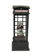 MRS CLAUSE IN A PHONE BOX
