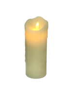 20CMH CREAM WAX BATTERY CANDLE
