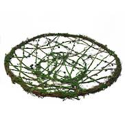 WIRE & RATTAN GREEN EASTER PLATE