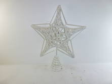 SPIDERWEB METAL STAR TREE TOPPER