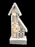 31CMH 2 STORY WOOD HOUSE WITH PLASTIC WINDOWS LED