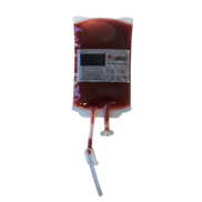 DOZEN DISPLAY BLOOD BAGS