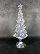 37CMH ACRYLIC LIGHT UP TREE