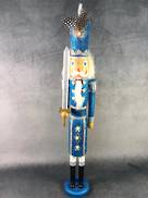 60CMH BLUE GLITTER NUTCRACKER