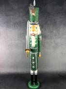 60CMH GREEN GLITTER NUTCRACKER