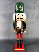 40CMH GREEN NUTCRACKER WITH SWORD