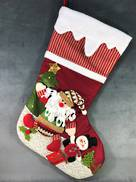 VERY LARGE SANTA CHRISTMAS STOCKING