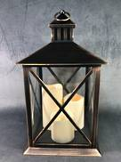 22CMSQ BLACK COPPER LANTERN