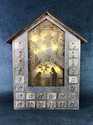 LIGHT UP WOODEN ADVENT
