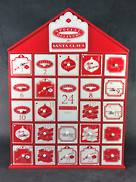 RED AND WHITE ADVENT HOUSE