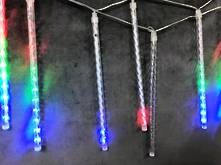 8 STICK 30CML MULTICOLOUR METEOR LIGHTS