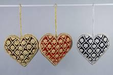 SET 3 VELVET HEARTS