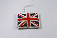 HAND EMBROIDERED UNION JACK