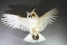 70CMW WHITE FEATHER OWL