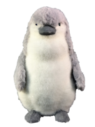 26CMH GREY/WHITE FUR PENGUIN