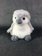 11CMH GREY/WHITE FUR PENGUIN