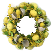 YELLOW EGG AND CHICK WREATH