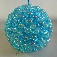 AQUA SEQUINNED ONION