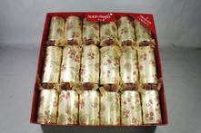 30CM BOX6 CHAMPAGNE AND BERRY TIE CRACKERS