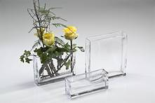 8CMH RECTANGULAR GLASS VASE