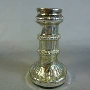 11CMH ANTIQUE SILVER CANDLE HOLDER