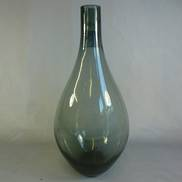 37CMH SMOKE BOTTLE VASE
