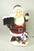 SANTA WITH BELL DECOR LED LIGHTS