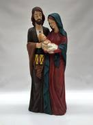 LARGE HOLY FAMILY DISPLAY