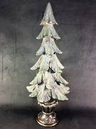 48CMH CHRISTMAS TREE WITH BASE SILVER&BLUE,