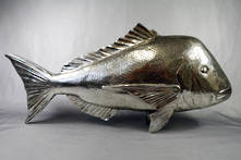 ELECTROPLATED SILVER SNAPPER