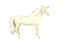 WHITE GOLD UNICORN