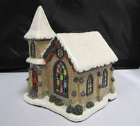 LIGHT UP CHRISTMAS COLLECTION - SMALL CHURCH