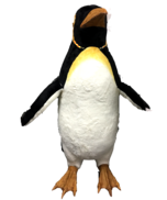 ANIMATED MUSIC MALE PENGUIN W/FINS MOVING