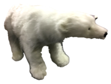 ANIMATED MUSIC BABY POLAR BEAR W/HEAD MOVING