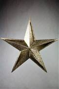 28CMH CHAMPAGNE FIVE TIP CUT OUT STAR