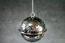 DOZ SILVER METAL BELL