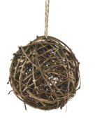 10CMD RATTAN BALL HANGER