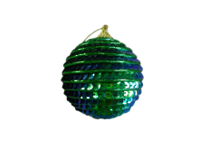PEACOCK SEQUIN BALL