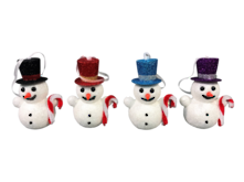 SET4 TOP HAT SNOWMEN