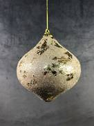 11CMH CHAMPAGNE GOLD LEAF ONION HANGER