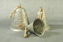 SMALL GALVANISED BELL