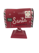 RED RURAL 'TO SANTA' MAILBOX