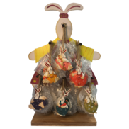 48PCS ON DISPLAY BUNNY HANGERS