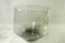 18CMH LARGE SMOKE GLASS BOWL