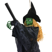 NOISE - WITCH ON BROOMSTICK