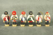 SET6 8CMH HANGING NUTCRACKERS
