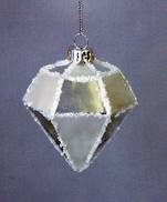 FACETED MIRROR GLASS DIAMOND (12)