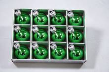 SET12 3CMD GREEN GLASS HANGERS