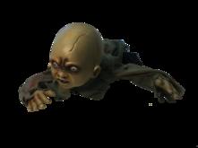 CRAWLING DEAD BABY