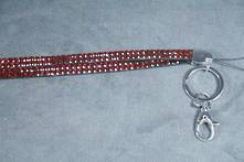RED DIAMANTE LANYARD